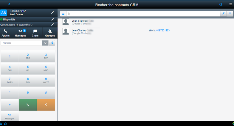 Istra CRM - Centile Telecom Application