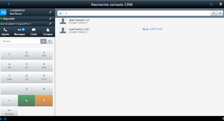 Istra CRM - Centile Telecom Application