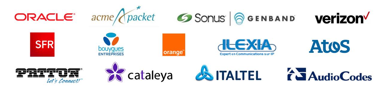 Interopérabilité - Centile Telecom Application