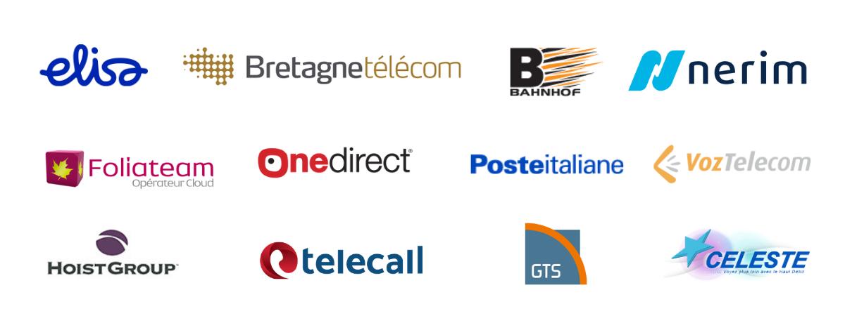 Nos client satisfaits 1 - Centile Telecom Application